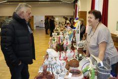 Vianočná výstava a predaj ručne vyrábaných výrobkov