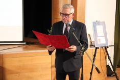 Slávnostná inaugurácia poštovej známky - Bronzová faléra z Podunajských Biskupíc